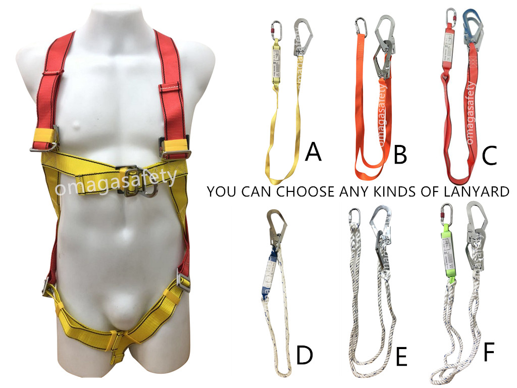 5104 HARNESS WITH ANY KINDS OF LANYARD CODE: DS-17