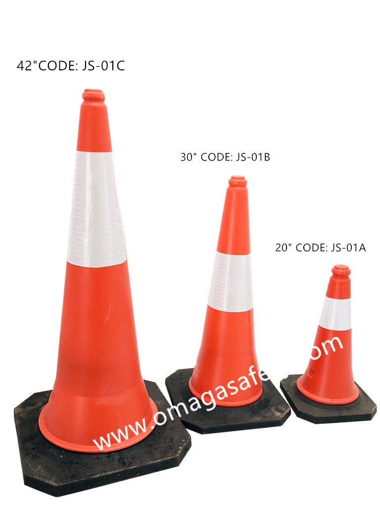 PVC CONE ORANGE CODE: JS-01 SERIES