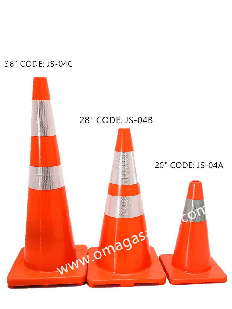 RUBBER CONE 2.3 KG ORANGE BASIC CODE: JS-04 SERIES