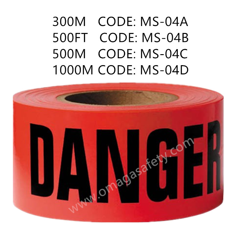DANGER TAPE CODE: MS-04