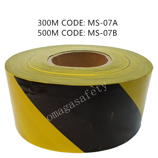 WARNING TAPE BLACK/YELLOW CODE: MS-07 SERIES