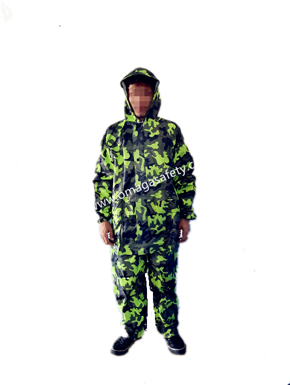 CAMONFLAGE PANTS AND JACKET GREEN CODE: MG-13