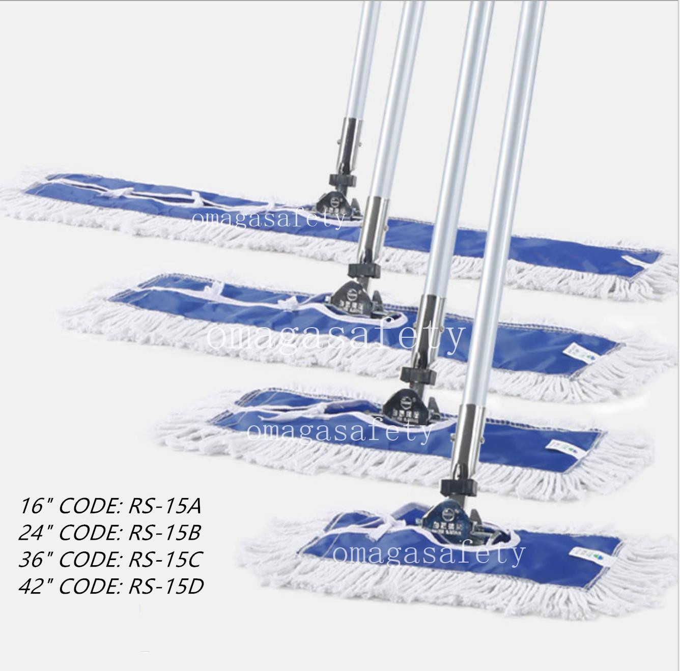 DUST MOP CODE: RS-15 SERIES