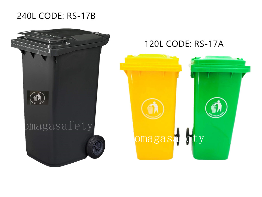 240 LITERS AND 120 LITTERS TRUSH CAN CODE: RS-17