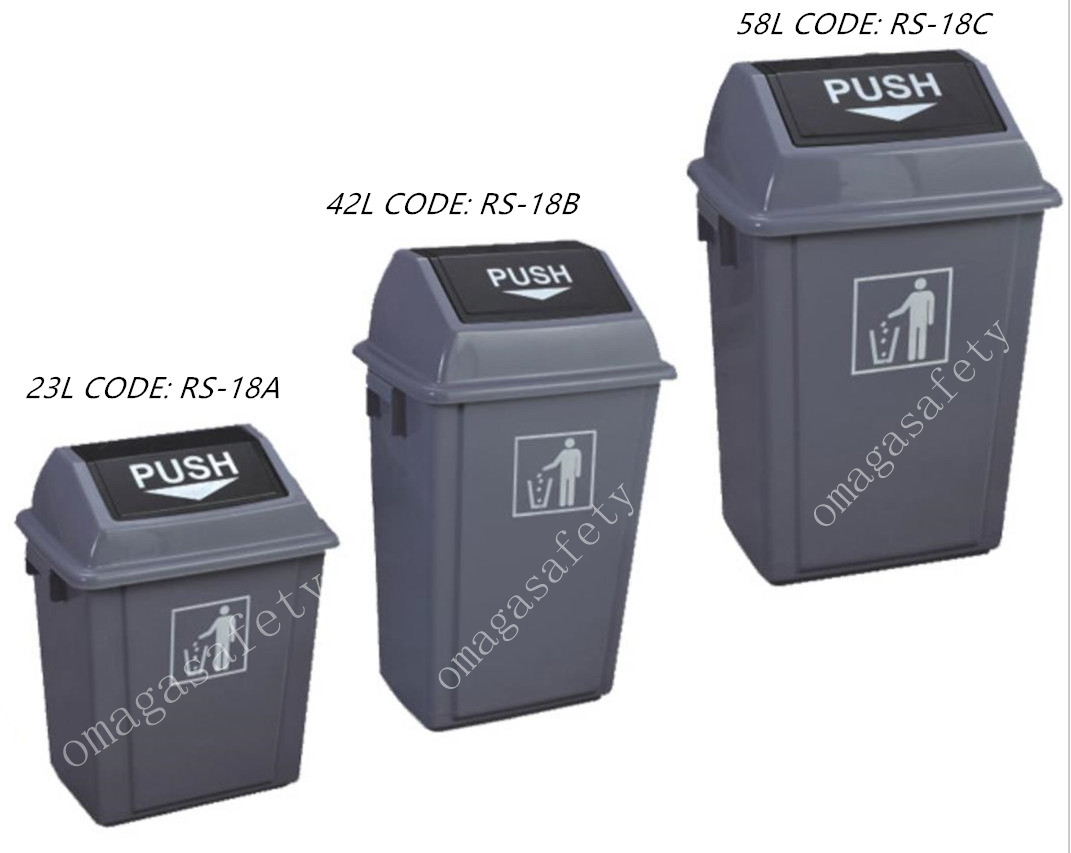 PUSH TRASH CAN CODE: RS-18 SERIES