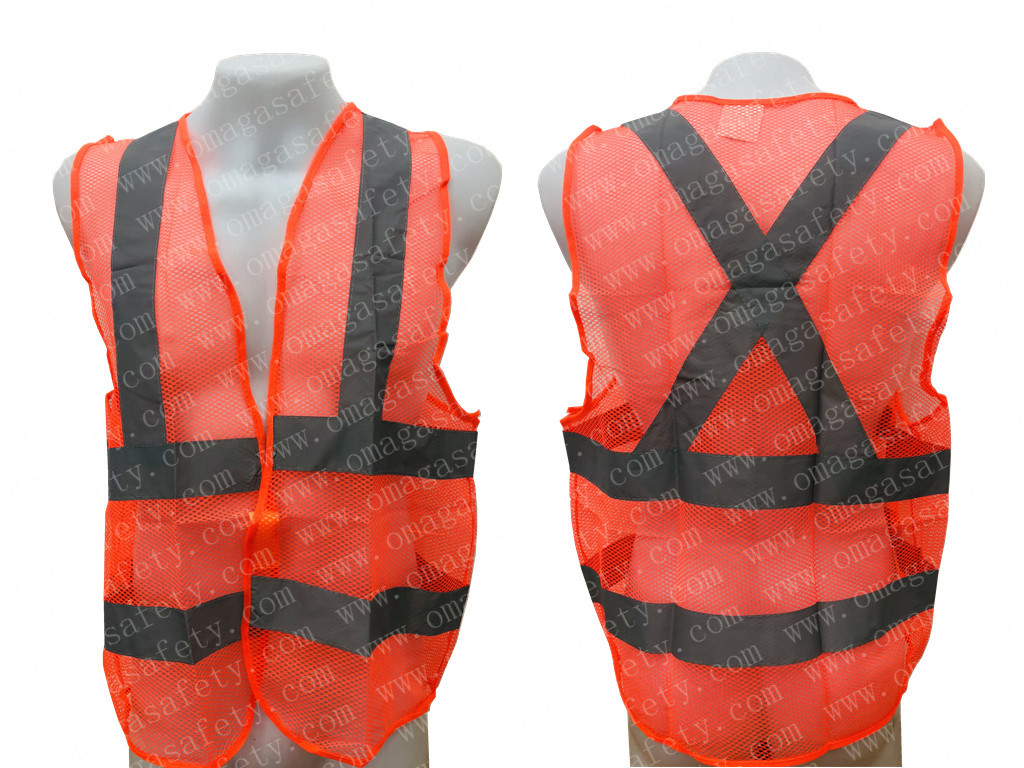 PANDA NET GRAY REFLECTOR VEST CODE: AS-11B