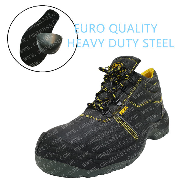 300-1 YELLOW HIGH CUT SAFETY SHOES CODE: BS-03