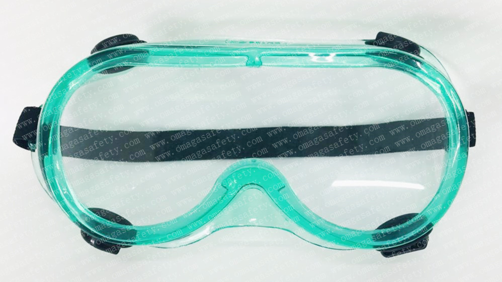 RUBBER GOGGLE GREEN CODE: GS-15