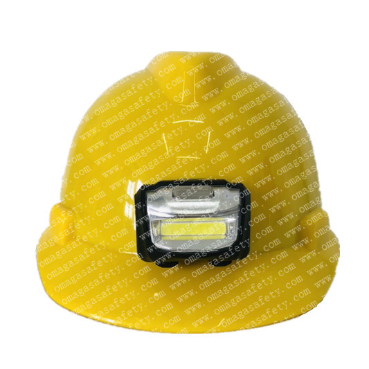 HELMET WITH HEAD LIGHT CODE: FS-13