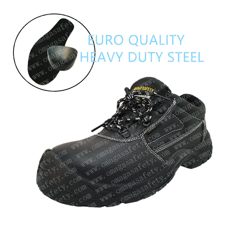 200-2 BLACK LOW CUT SAFETY SHOES CODE: BS-06