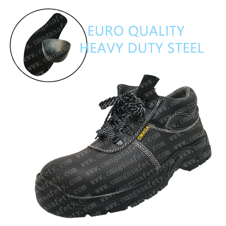OMAGA BLACK SAFETY SHOES CODE: BS-10